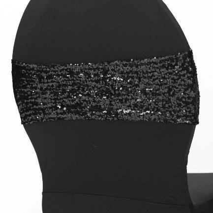 Sequin Band - Black
