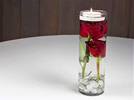 Single Cylinder Vase Arrangement