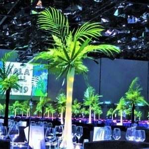 Artificial Jungle Greenery Centrepiece