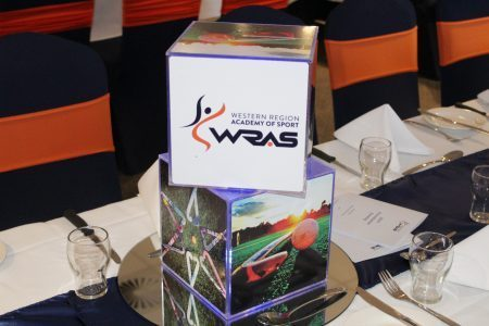 Double Cube Branded Centrepieces