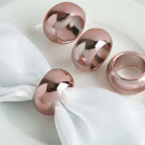 Napkin Ring - Rose Gold