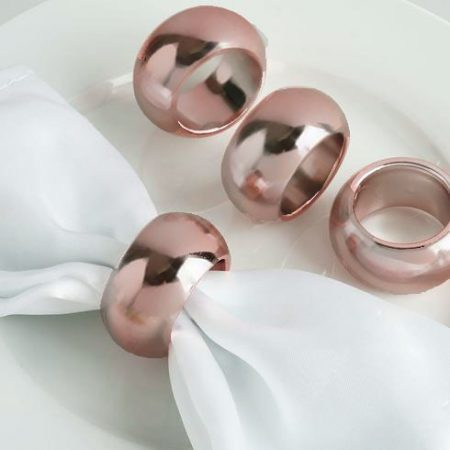 Napkin Ring - Rose Gold